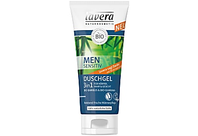 Lavera Men Sensitiv 3 in 1 Douche-Shampoo