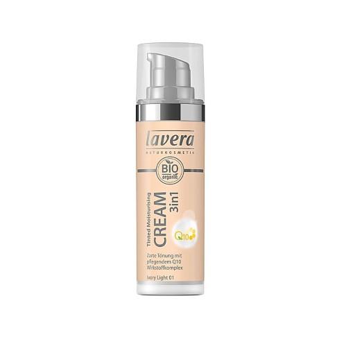 Lavera Moisturing Cream 3in1 Q10 Ivory Light 01
