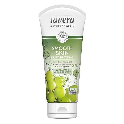 Lavera Smooth Skin Douche Peeling (Groene Koffiebonen en Groene Thee)