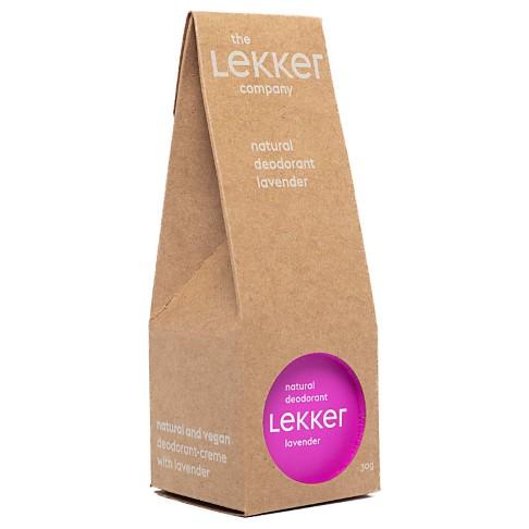 The Lekker Company Deodorant Lavendel