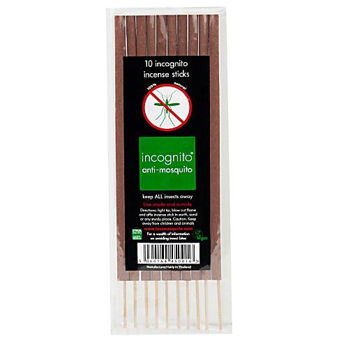 Incognito - Less Mosquito Citronella Wierrookstokjes