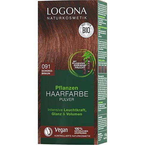 Logona Haarkleur Poeder Chocoladebruin 091