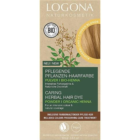 Logona Haarverf Poeder - Karamel Blond (020)