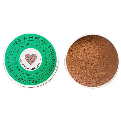 Love the Planet Vegan Mineral Foundation - Dusk