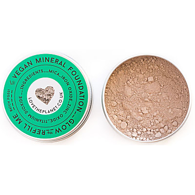 Love the Planet Vegan Mineral Foundation - Glow