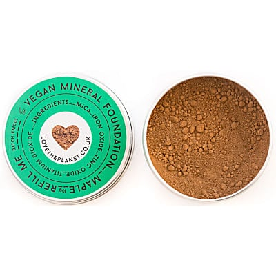 Love the Planet Vegan Mineral Foundation - Maple