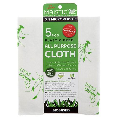 Maistic Microplasticvrije Multi Purpose Doek (5 doeken)