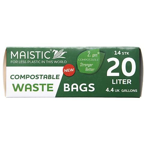 Maistic 2. Gen Composteerbare Vuilniszakken 20Ltr (14)