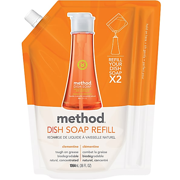 Image of Method Afwasmiddel Clementine Refill Clementine