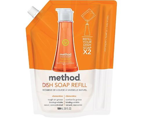Method Afwasmiddel Clementine Refill
