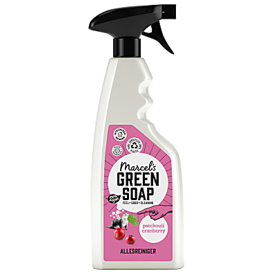 Marcel's Green Soap Allesreiniger Spray Patchouli & Cranberry
