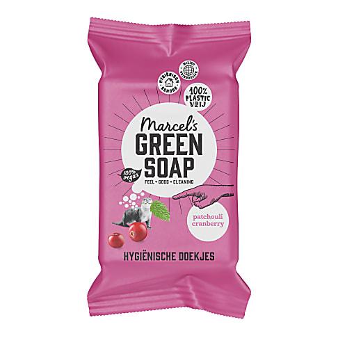 Marcel's Green Soap Hygiënische Schoonmaakdoekjes