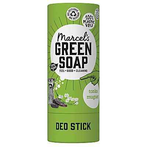 Marcel's Green Soap Deodorant Tonka & Muguet