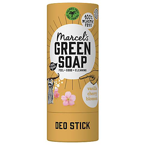 Marcel's Green Soap Deodorant Vanille & Kersenbloesem