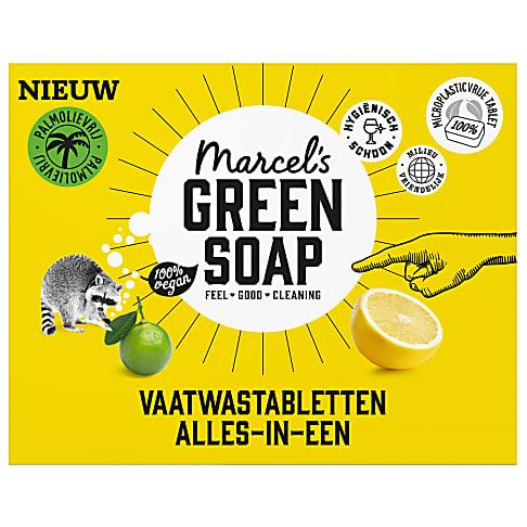 Marcel's Green Soap Vaatwastabletten Grapefruit & Lemoen
