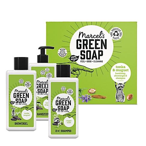 Marcel's Green Soap Cadeau Set Tonka & Muguet