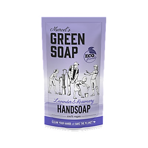 Marcel's Green Soap Handzeep Lavendel & Rozemarijn Stazak 500ml