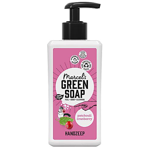 Marcel's Green Soap Handzeep Patchouli & Cranberry