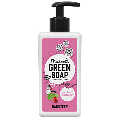 Marcel's Green Soap Handzeep Patchouli & Cranberry