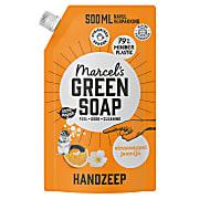 Marcel's Green Soap Handzeep Sinaasappel & Jasmijn 1L