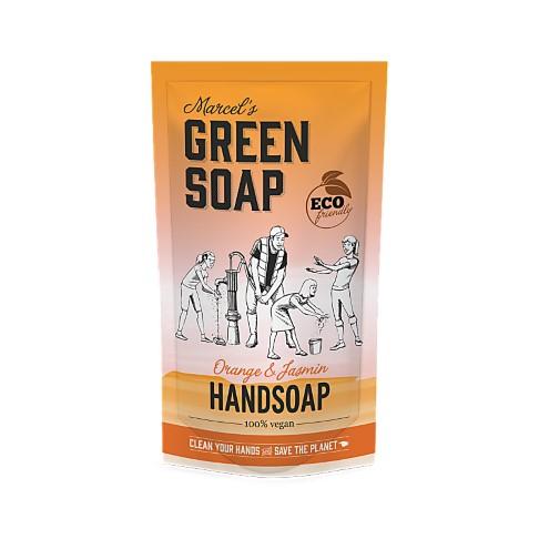 Marcel's Green Soap Handzeep Sinaasappel & Jasmijn Stazak 500ml