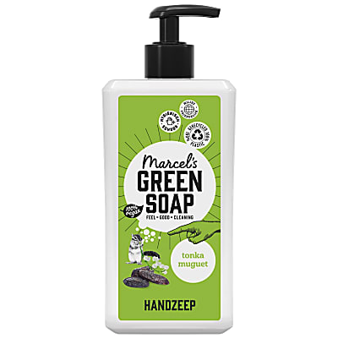 Marcel's Green Soap Handsoap Tonka & Muguet 500ML