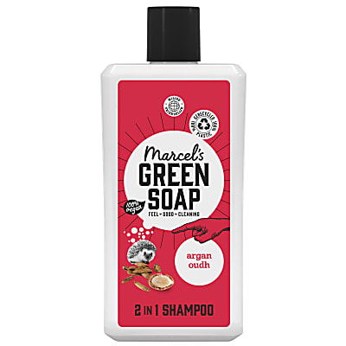Marcel's Green Soap Shampoo Argan & Oudh
