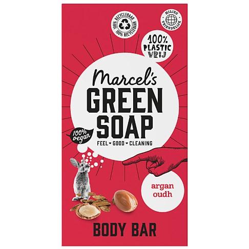 Marcel's Green Soap Body Bar Argan & Oudh