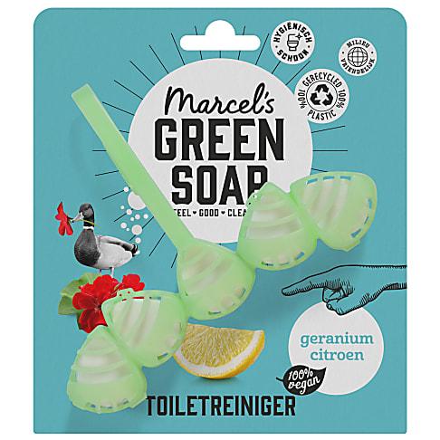 Marcel's Green Soap Toilet Blok Geranium & Lemon