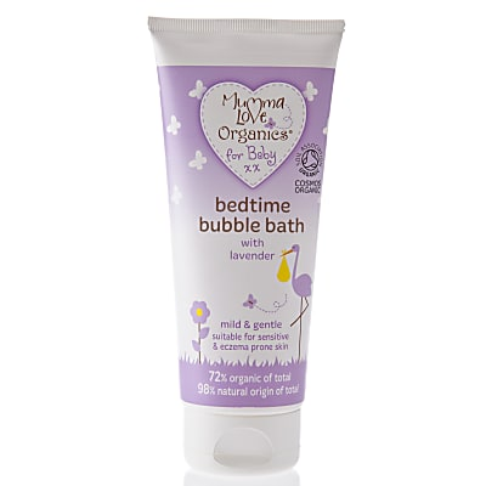 Mumma Love Organics Baby Bedtime Bubble Bath Lavender