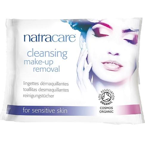 Natracare biologische make-up reinigingsdoekjes