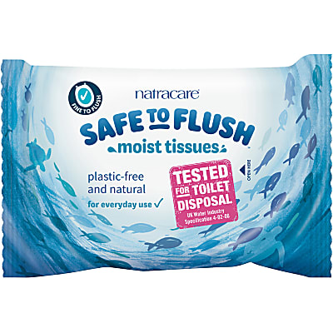 Natracare Safe to Flush Vochtige Doekjes