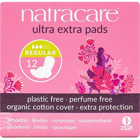 Natracare Maandverband Ultra Extra (Normal, Long & Super)