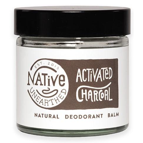 Native Unearthed Natuurlijke Deodorant Balsem - Houtskool