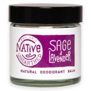 Native Unearthed Natuurlijke Deodorant Balsem - Salie & Lavendel