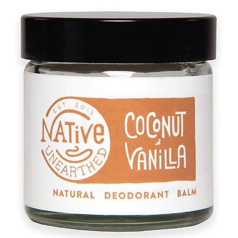 Native Unearthed Natuurlijke Deodorant Balsem - Kokosnoot & Vanille