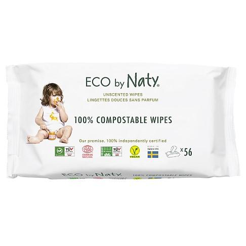 Nature Babycare ECO Gevoelige Babydoekjes - Ongeparfumeerd