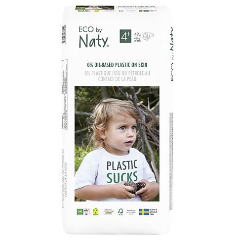 Naty Luiers: Maat 4+ (9-20 kg) 42 stuks