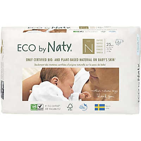Naty Luiers: Maat 1 Newborn (2-5 kg) 25 stuks