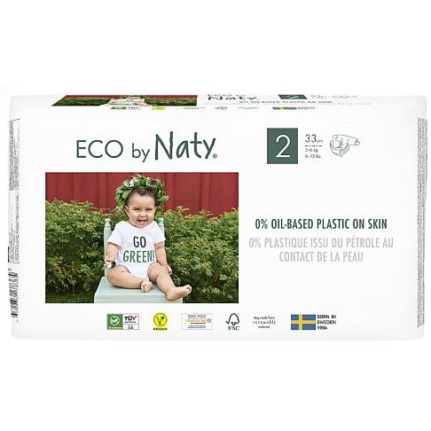 Naty Luiers: Maat 2 (3-6 kg) 33 stuks