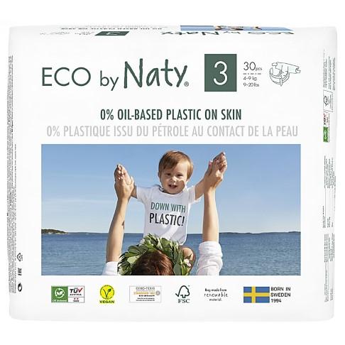 Naty Luiers: Maat 3 (4-9 kg) 30 stuks
