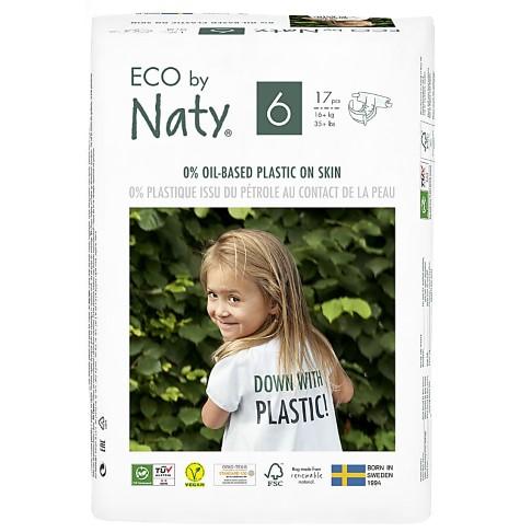 Naty Luiers: Maat 6 (16+ kg) 17 stuks