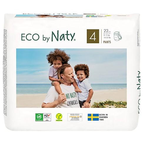 Naty  Pull Up Pants: Maat 4 Maxi/Maxi Plus (8-15 kg) 22 stuks