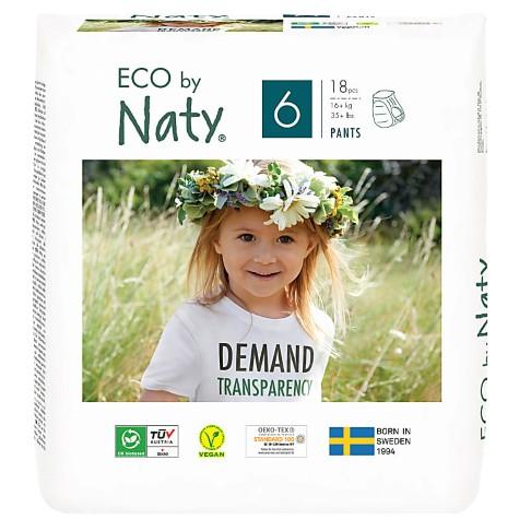 Naty Pull Up Pants: Maat 6 X-Large (16+ kg) 18 stuks