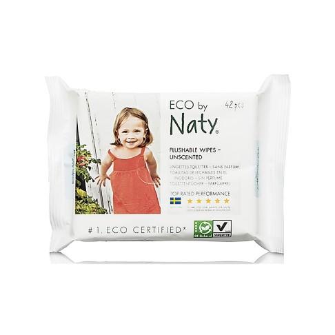 Naty Eco Doekjes - voor toilet training (gevoelige huid)