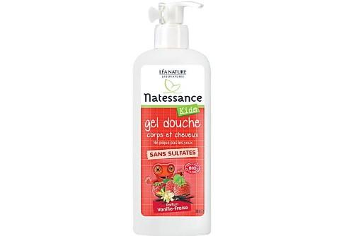 Natessance - Shampoo Douche Kids (aardbeien & vanille)