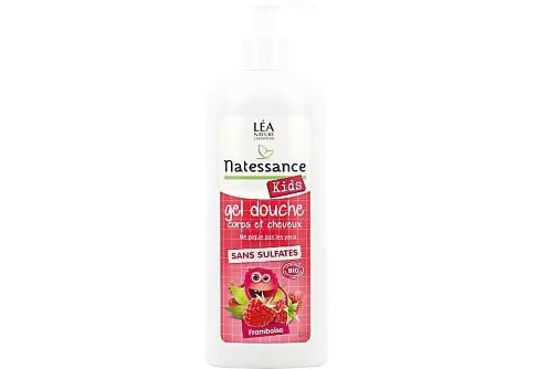 Natessance - Shampoo en Douchegel Kids Framboos