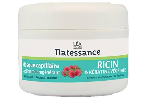 Natessance - haarmasker (ricinusolie en plantaardige keratine)