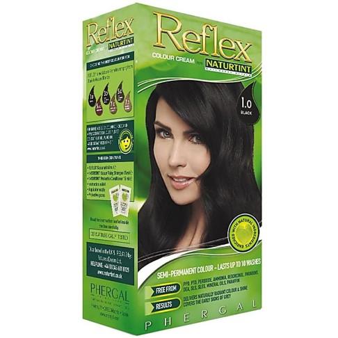 Reflex Semi-Permanente Kleurspoeling 1.0 Zwart