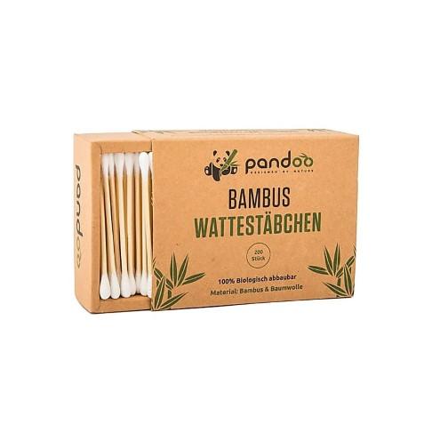 Pandoo Bamboe Wattenstaafjes (200 stuks)
